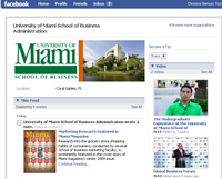 Visit the School of Business Administration on Facebook