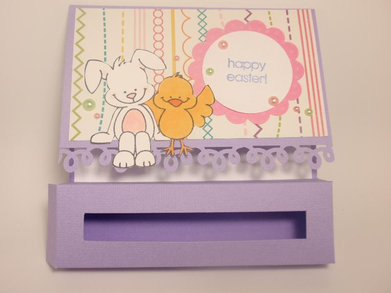 Easter treat box card