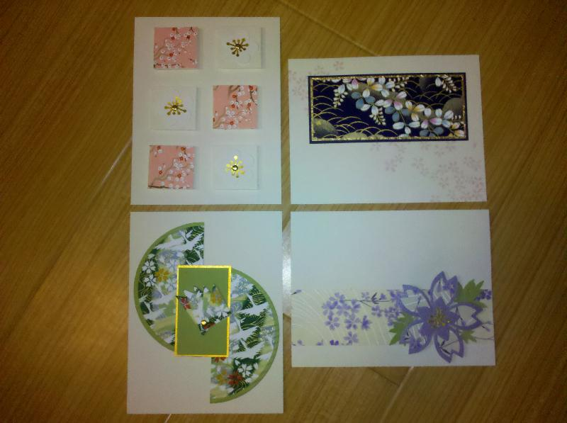 Kelli's Asian Card Sets