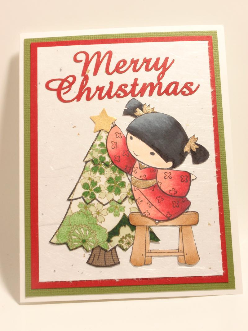 Christmas Card Class with Kiyomi