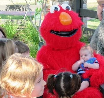 Elmo Visit