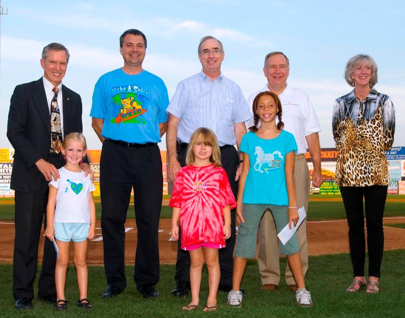 Prize winners at Keys Game