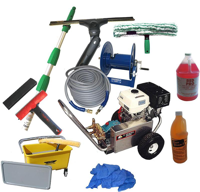 CWC Window Cleaning Supplies