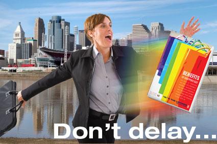 Don't Delay...