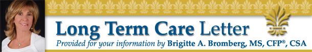 Long Term Care Letter from Brigitte Bromberg