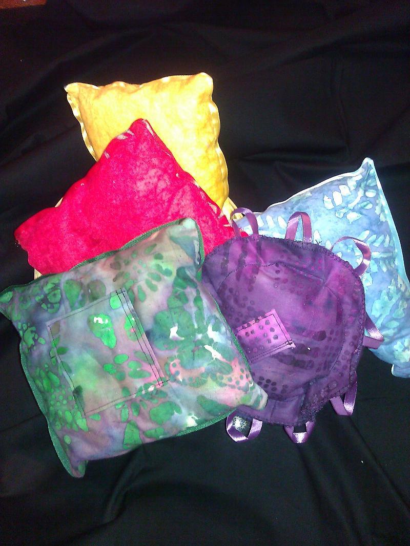 Chakra pillows