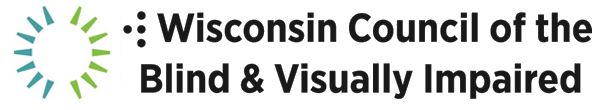 Logo for Wisconsin Council of the Blind _ Visually Impaired
