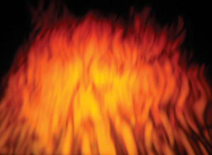blaze effect