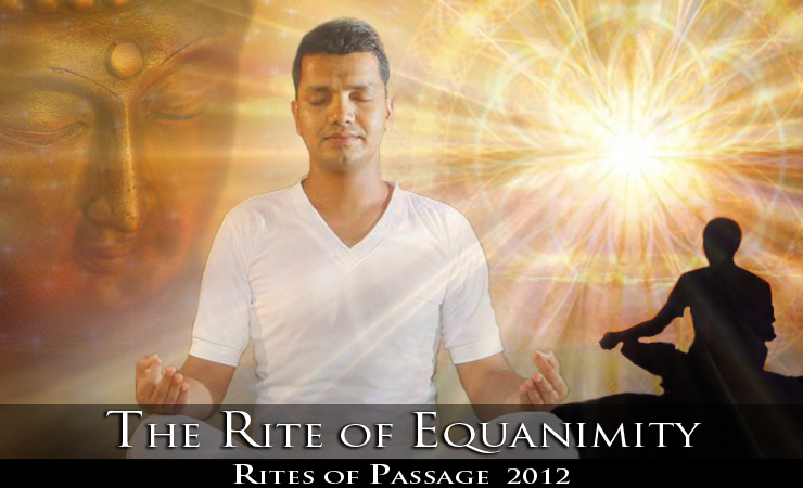 THE RITE OF EQUANIMITY (#8) 2597