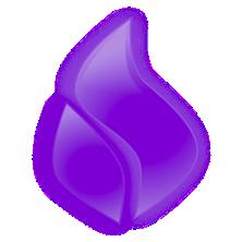 flame-violet