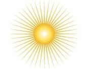 cos sun logo shana