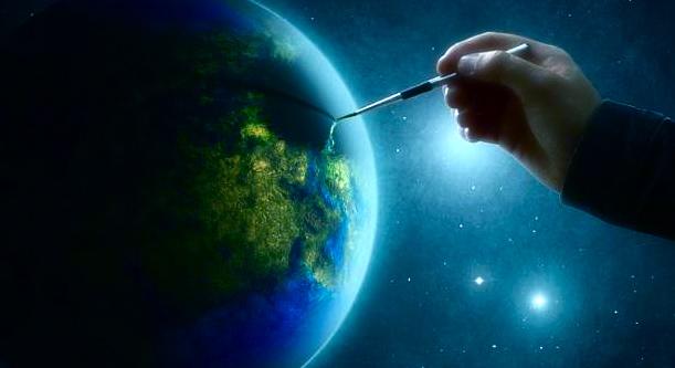 earth draw