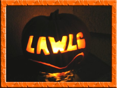 LAWLS-O-Lantern by Kim Stover
