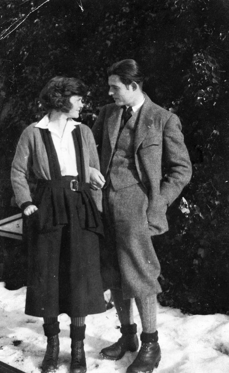 Ernest and Hadley Hemingway