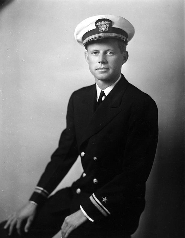 JFK in Uniform