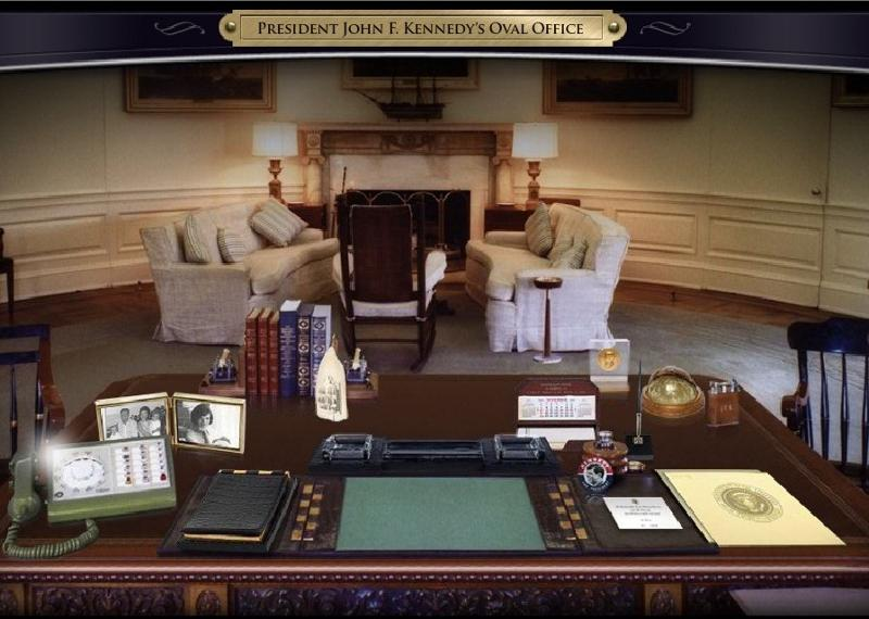 replica jfk white house oval office. Kennedy Oval Office. President\\u0027s Desk The John F. Presidential Office Replica Jfk White House
