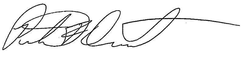 Pete Dumont Full Signature