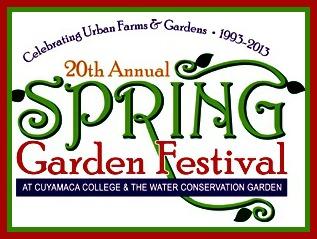 Cuyamaca College Spring Garden Festival logo