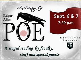 promo of poe poetry reading