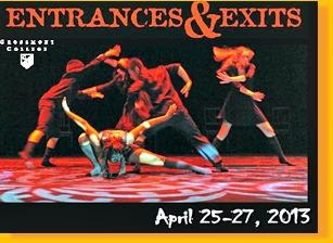 Grossmont College dancers performing