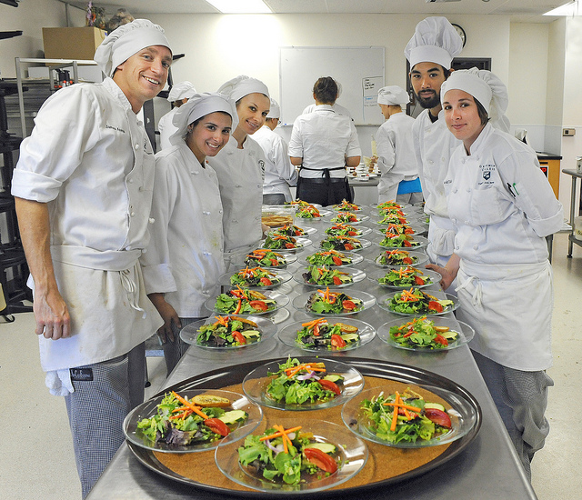 Grossmont College Culinary Arts Students