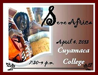 African music duo, Sene Africa