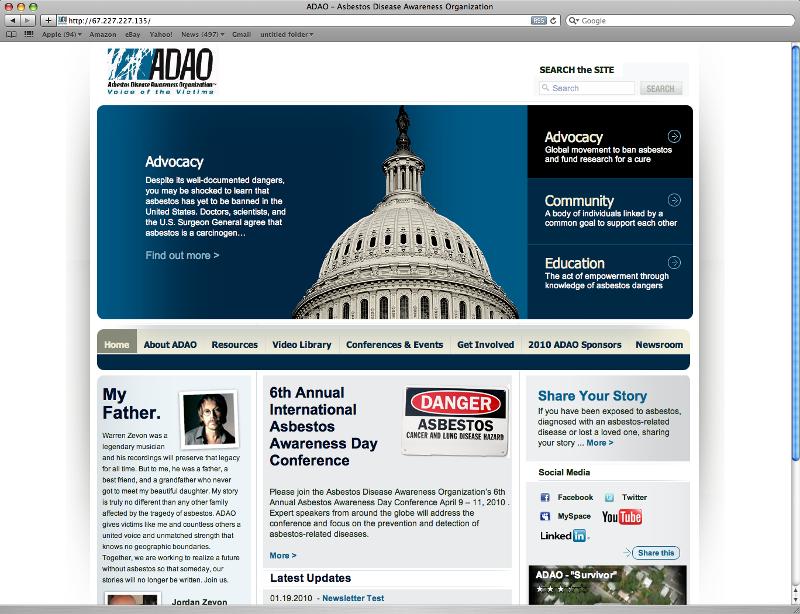 New ADAO Website