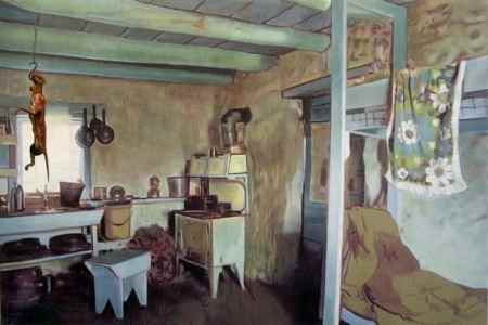 Greg Rook, Interior, Oil on Linen, 2007