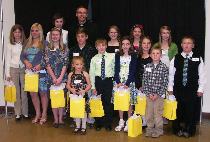 Bishop's Night for Vocations 2012