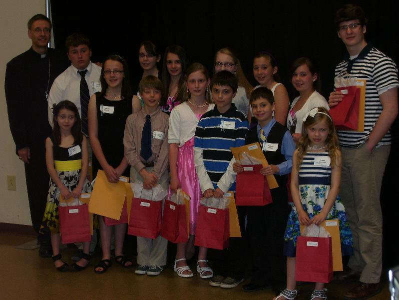 Bishop's Night for Vocations 2011