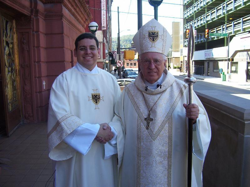 Warchola Deacon Ordination