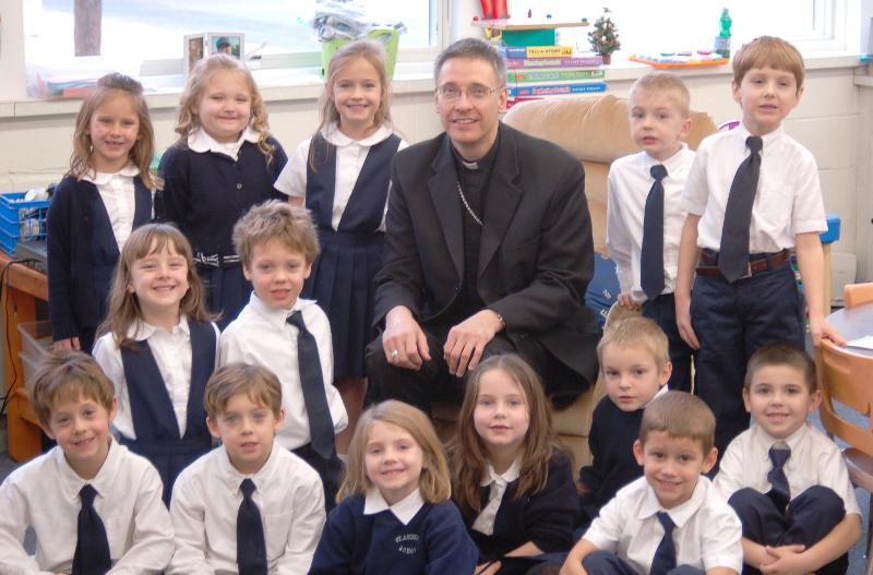Saint Andrew school visit 12-15-11