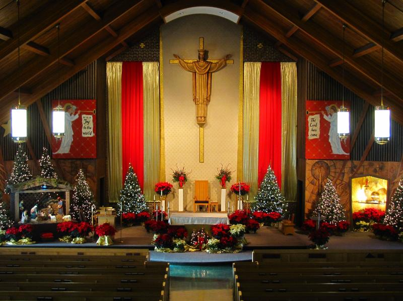 Our Lady of Lourdes Christmas