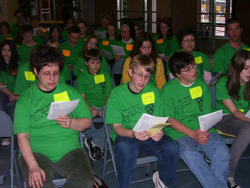 Junior High Youth Day 2010