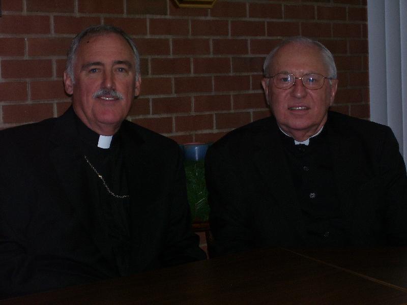 Bishops Tiedemann and Joseph