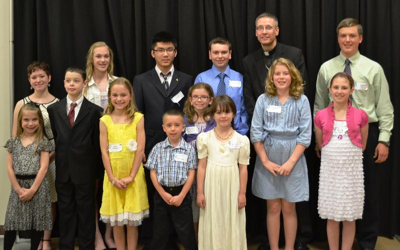 Bishop's Night for Vocations 2013