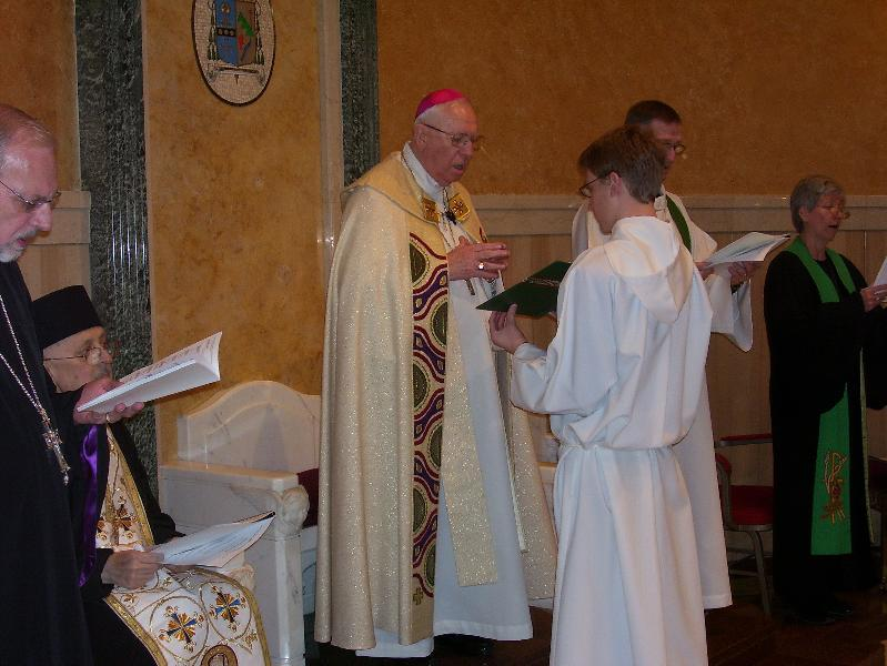 Ecumenical Service February 2011