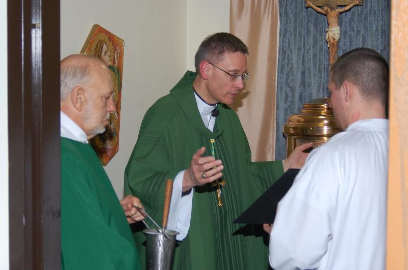 UPJ Blessed Sacrament Chapel Dedication