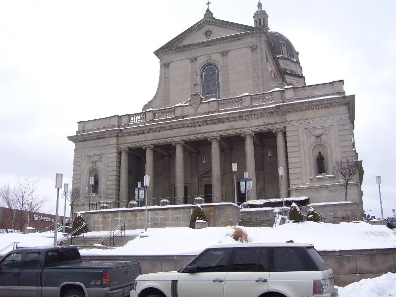 Cathedral Snow