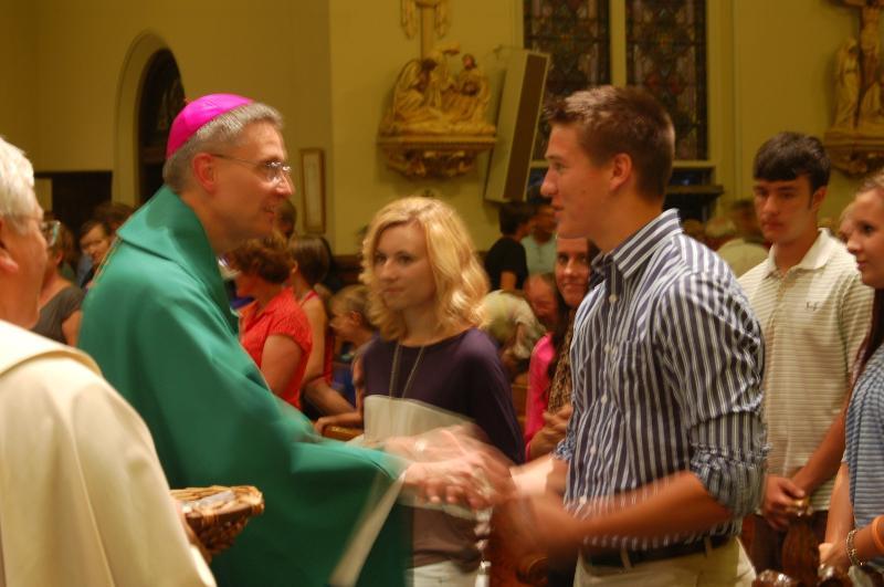 College Mass 2012