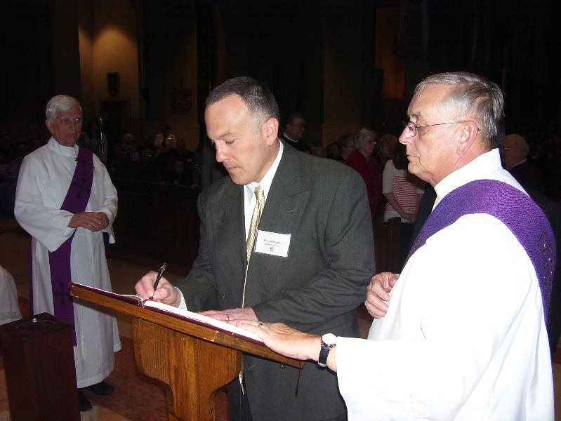 Rite of Election 2011