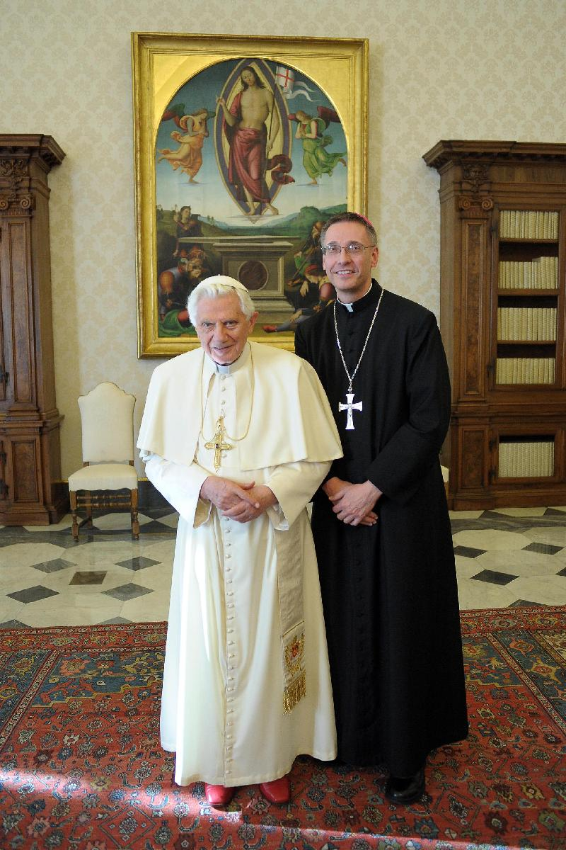 Bishop and Pope December 2011