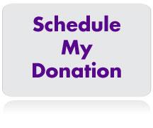 Schedule My Donation!