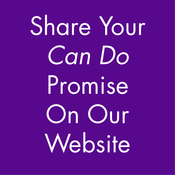 Share Your Can Do Promise