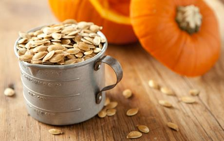 flesh of pumpkin is tender once the baked pumpkin scraps have cooled ...