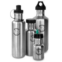 Klean Kanteen Stainless Steel Water Bottles