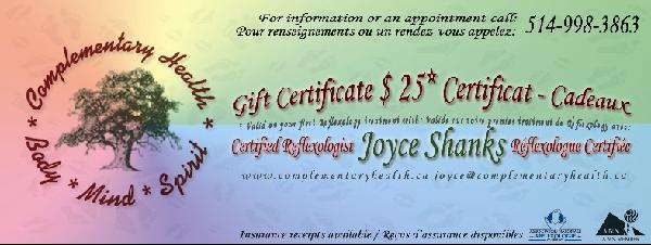 $ 25 discount certificate for initial treatment