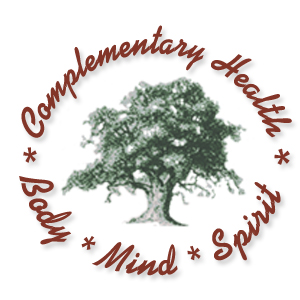 Complementary Health Burgandy Logo