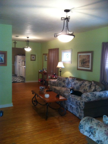 117 Orange Avenue Living Room Area