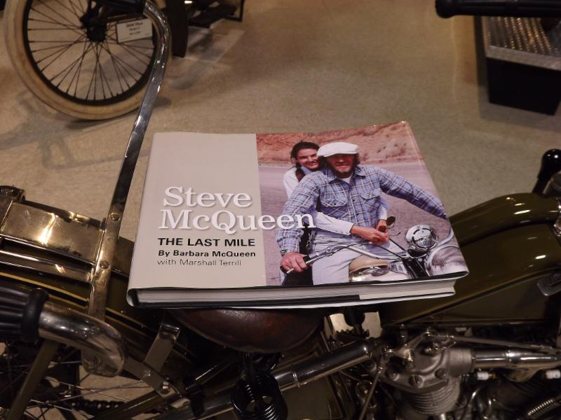 Steve McQueen gave the bike its sexy boost.